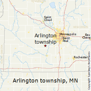 Arlington_township,Minnesota Map