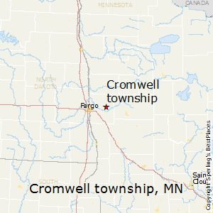 Cromwell_township,Minnesota Map