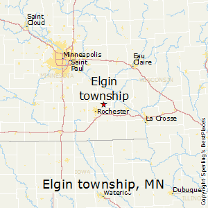 Elgin_township,Minnesota Map