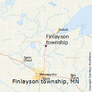 Finlayson_township,Minnesota Map