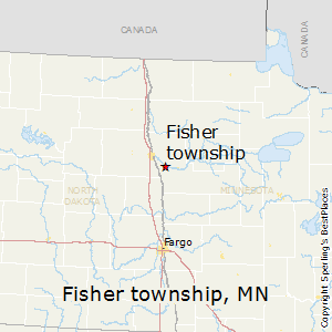Fisher_township,Minnesota Map