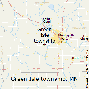 Green_Isle_township,Minnesota Map