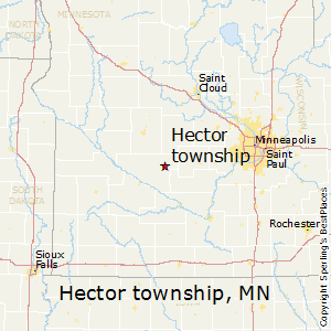 Hector_township,Minnesota Map