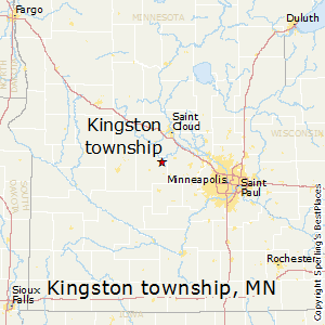 Kingston_township,Minnesota Map