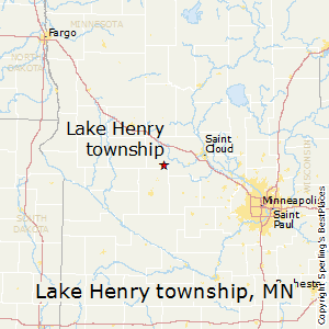 Lake_Henry_township,Minnesota Map