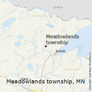 Meadowlands_township,Minnesota Map
