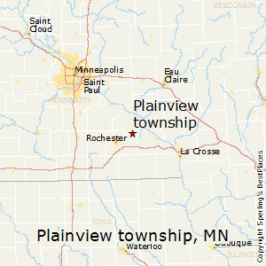 Plainview_township,Minnesota Map