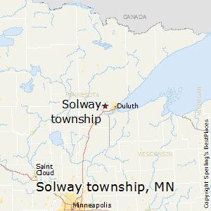 Solway_township,Minnesota Map