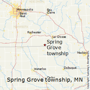 Spring_Grove_township,Minnesota Map