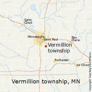 Vermillion_township,Minnesota Map
