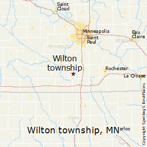 Wilton_township,Minnesota Map