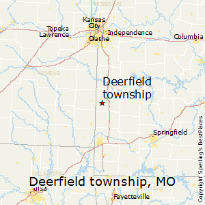 Deerfield_township,Missouri Map