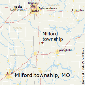Milford_township,Missouri Map