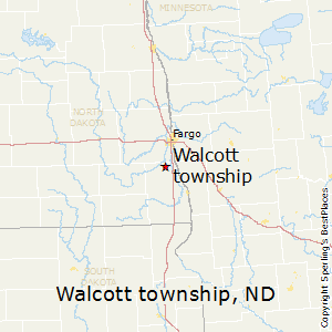 Walcott_township,North Dakota Map