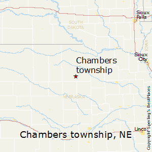 Chambers_township,Nebraska Map