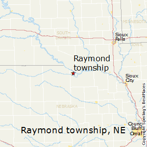 Raymond_township,Nebraska Map