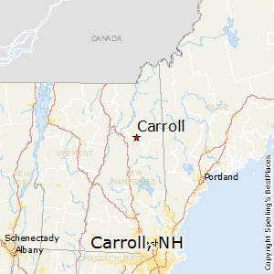 Carroll,New Hampshire Map