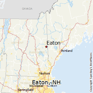 Eaton,New Hampshire Map