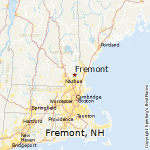 Fremont,New Hampshire Map