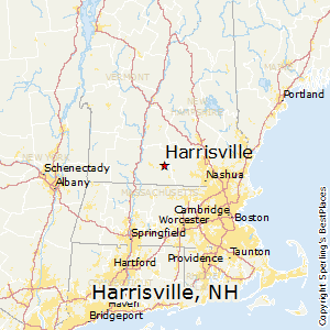 Harrisville,New Hampshire Map