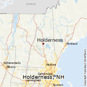 Holderness,New Hampshire Map