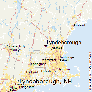 Lyndeborough,New Hampshire Map