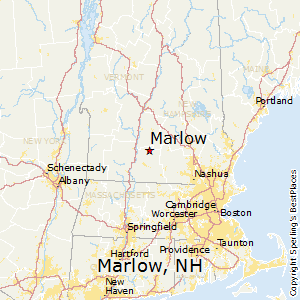 Marlow,New Hampshire Map