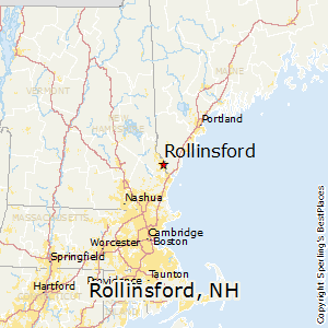 Rollinsford,New Hampshire Map