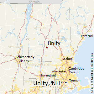 Unity,New Hampshire Map