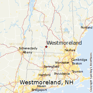 Westmoreland,New Hampshire Map