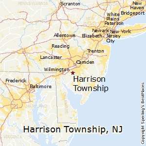 Harrison_township,New Jersey Map