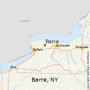 Barre,New York Map