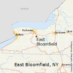 East_Bloomfield,New York Map