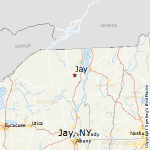 Jay,New York Map