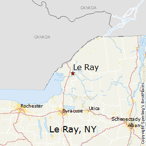 Le_Ray,New York Map