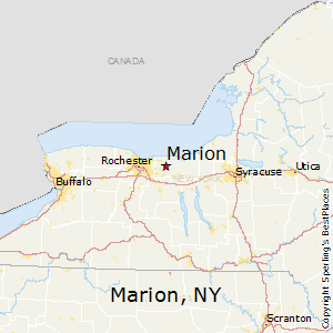 Marion,New York Map