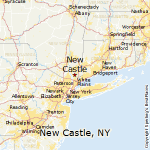New_Castle,New York Map