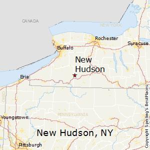 New_Hudson,New York Map