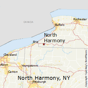 North_Harmony,New York Map