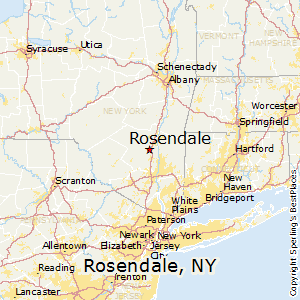 Newburgh New York Map.Comparison Rosendale New York Newburgh New York