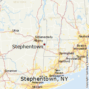 Stephentown,New York Map