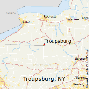 Troupsburg,New York Map