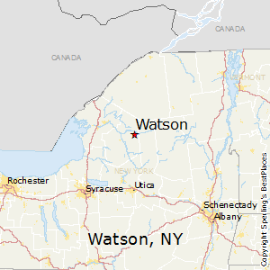Watson,New York Map