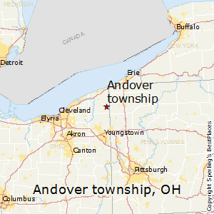 Andover_township,Ohio Map