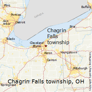 Chagrin_Falls_township,Ohio Map