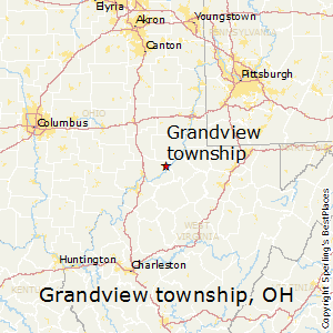 Grandview_township,Ohio Map