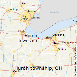 Huron_township,Ohio Map
