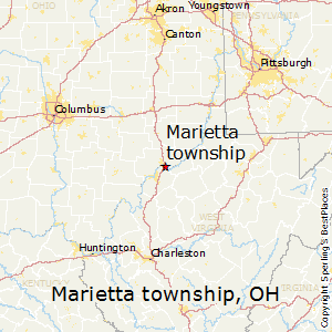 Marietta_township,Ohio Map