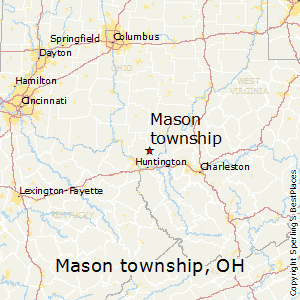 Springfield Township Ohio Map.Best Places To Live In Mason Township Ohio