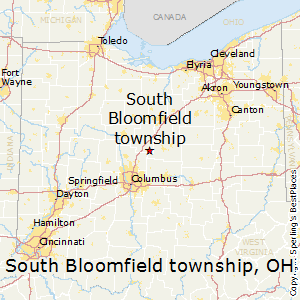 South_Bloomfield_township,Ohio Map